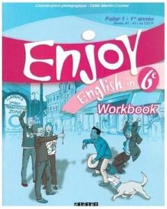 51nVTnyDITL. SX385  240x300 Telecharger Enjoy English in 6e Palier 1 1re année Niveau A1 A1+ du CECR : Workbook