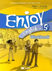 51pALTR vkL.  221x300 Telecharger Enjoy English in 5e : Workbook